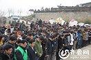 泰安市公益志愿者协会会长崔山追思会24日举行(10图)