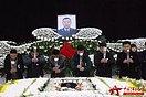 空降兵李道洲烈士追悼会在武汉举行 市民送别救人英雄(组图)