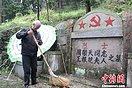 浙江奉化八旬老人为烈士守墓26载:活着就要坚守(2图)