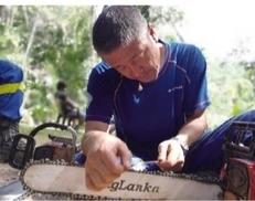 他带救援队 参加70余起地震等救援(图)
