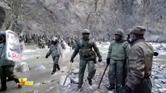 以一当十,还原4名烈士参与的加勒万河谷冲突