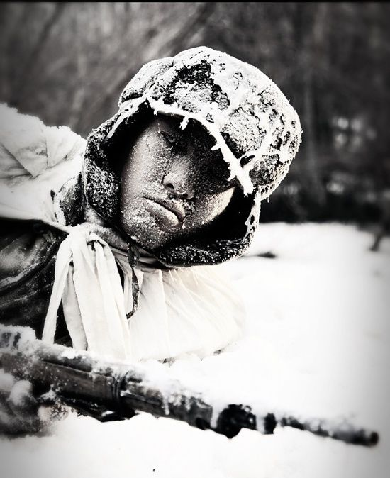 长津湖冰雕连:志愿军三个连队冻死阵地上