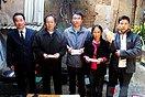 中国好人网慰问因举报违法行为而遭报复的滇池卫士张正祥等人(3图)